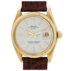 Rolex Yellow Gold Oyster Perpetual Date Wristwatch ref 1503