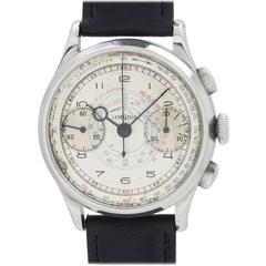 Vintage Lemania Chronograph Wristwatch circa late 1930s