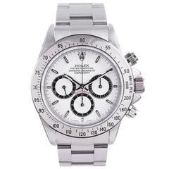 """Rolex Stainless Steel """"L"""" Series Zenith Daytona Wristwatch"""