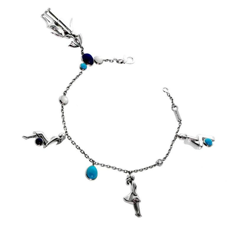"Van Cleef & Arpels Limited ""Romance"" Gold Bracelet"
