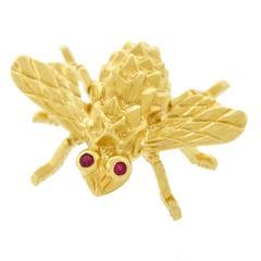 Herbert Rosenthal Gold Bee Brooch