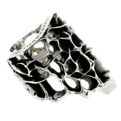 Thorn Sterling Silver Ring
