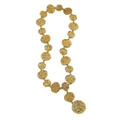 Cartier Vermeil Belt Necklace