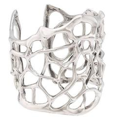 Thorn Small Silver Cuff Bracelet