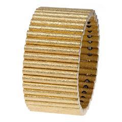 Marchisio Gold Flexible Bracelet