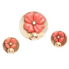 Tiffany & Co. Coral Gold Set