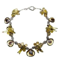 Deborah Liebman Bio Lemon Quartz and Lemon Quartz Necklace