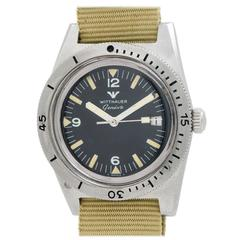 Wittnauer Stainless Steel Geneva Diver's Model Wristwatch