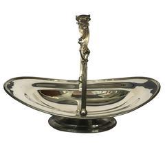1850s Tiffany & Co. Sterling Silver Basket