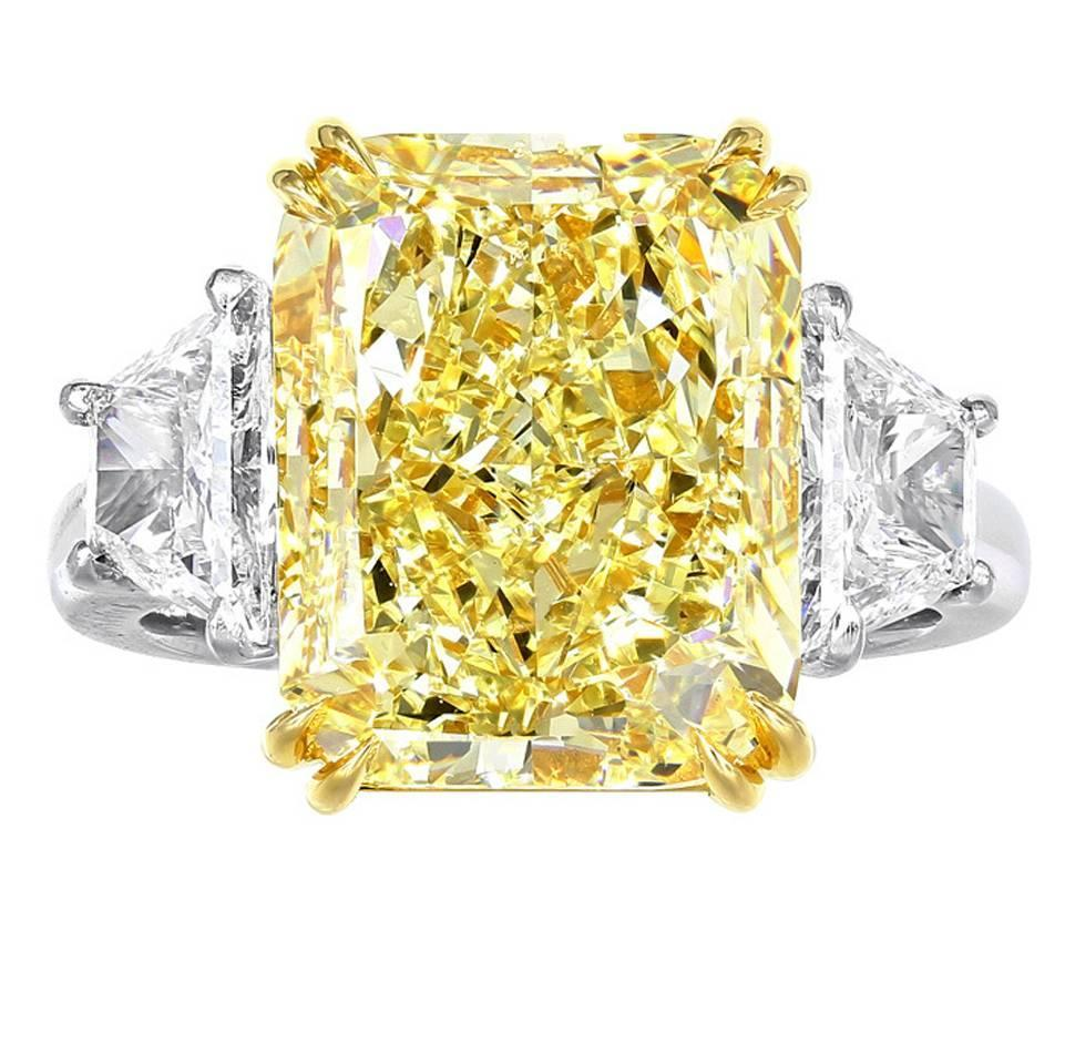 cut wedding alexis radiant canary engagement carats diamond yellow wrsnh rings