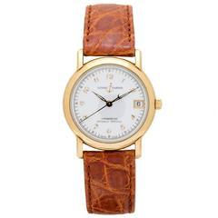 Ulysse Nardin Yellow Gold San Marco Automatic Wristwatch