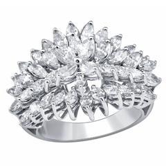 Diamond Gold Marquise Ring