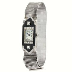 Patek Philippe for Tiffany & Co. Lady's Platinum Wristwatch