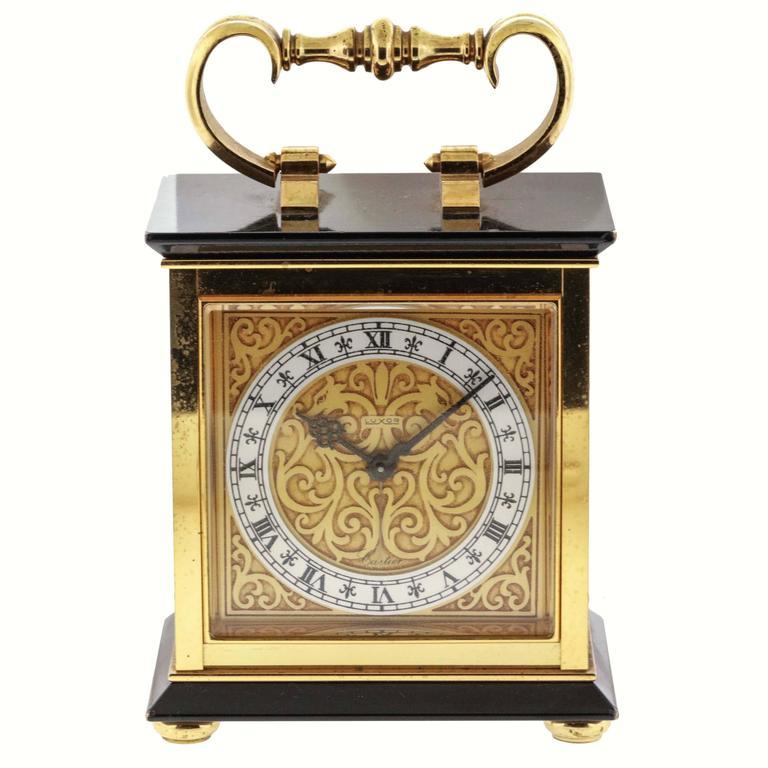 1960s Cartier Alarm Desk Clock
