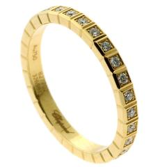 Chopard Ice Cube Diamond Gold Eternity Ring