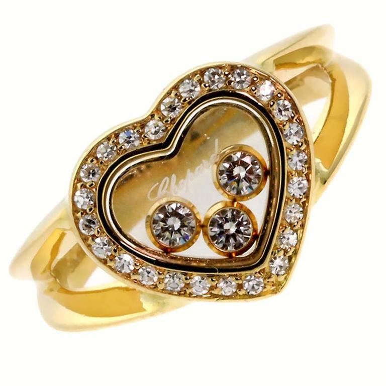 Chopard Happy Diamond Gold Ring