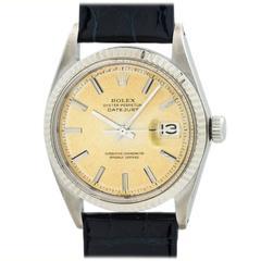 Rolex Stainless Steel Datejust Wristwatch Ref 1601 circa 1968