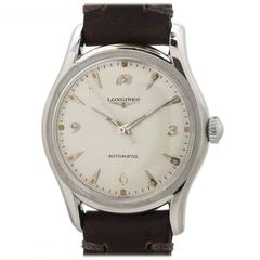 Longines Stainless Steel Automatic Wristwatch