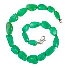 Colleen B. Rosenblat Chrysoprase Necklace