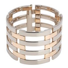 Colleen B. Rosenblat Two Color Gold Link Bracelet