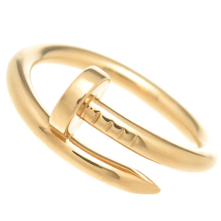 Cartier Juste Un Clou Gold Nail Ring at 1stdibs