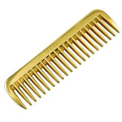 Hermes Paris Brass Moustache Comb