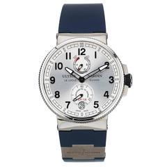 Ulysse Nardin Stainless Steel Marine Chronometer Automatic Wristwatch