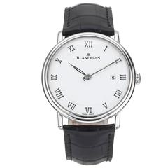 Blancpain Stainless Steel Villeret Automatic Wristwatch