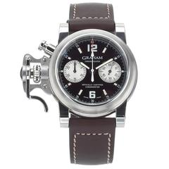 Graham Stainless Steel Chronofighter Chronograph Automatic Wristwatch