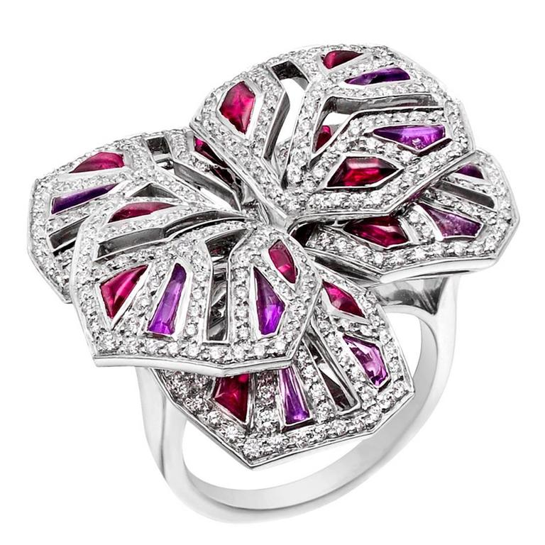 images best ring pink orchid and shoplctv jewelry sterling pinterest radiant platinum overlay tourmaline quartz on in silver diamond