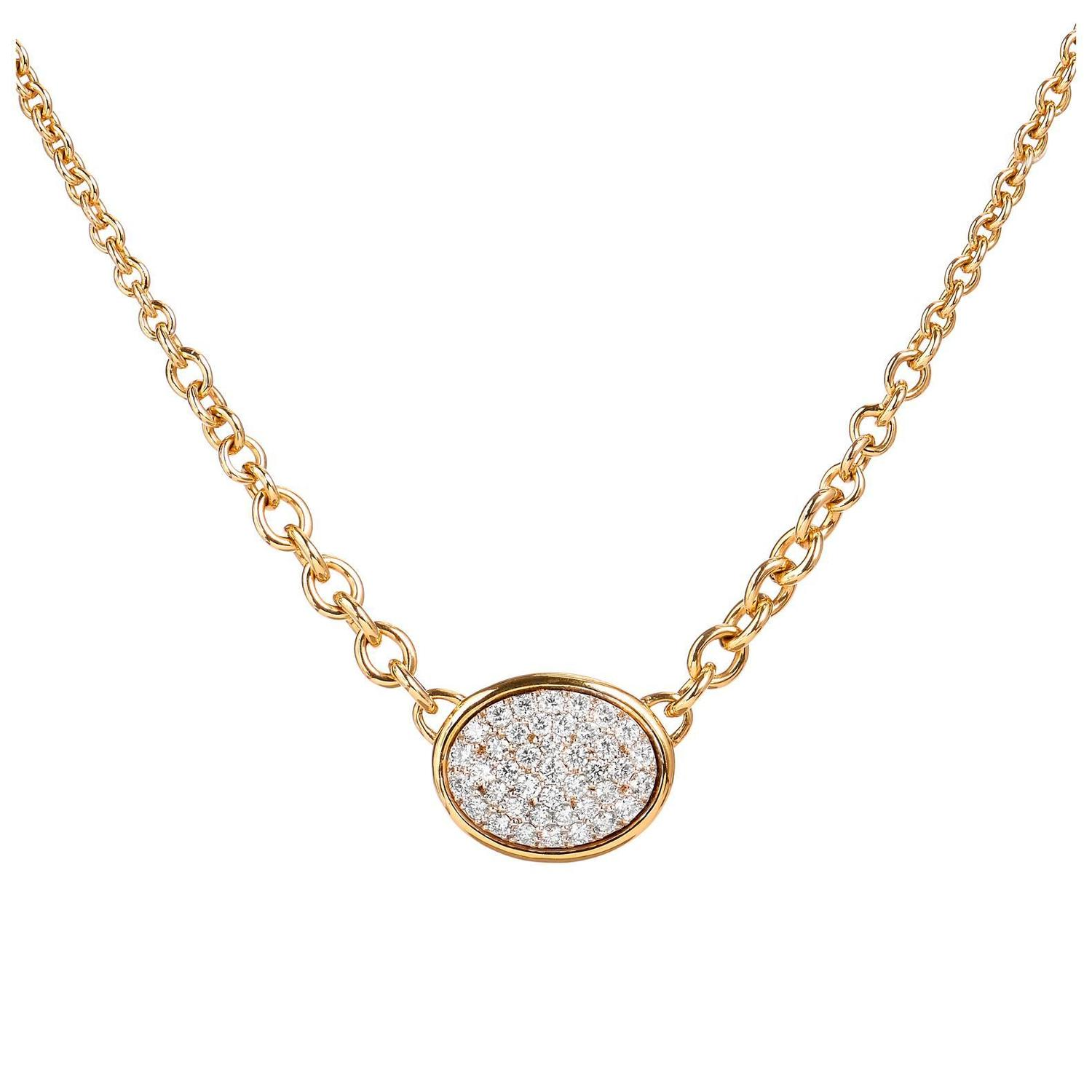 Oval Shape Pave Diamond Necklace For Sale At 1stdibs. Coper Rings. Jewellery Rings. Crystal Swarovski Beads. Godmother Bracelet. Round Cut Sapphire. Kate Spade Stud Earrings. Tiffany Diamond. Movado Luno Watches