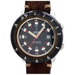 Le Jour Stainless Steel Depthograf Diver's Wristwatch 1960s