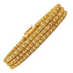 Lalaounis Gold Bracelet