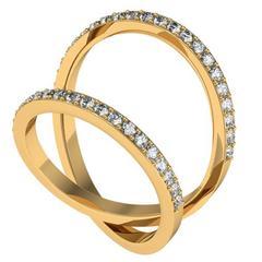 Henk Stallinga & Sparkles Diamond Gold Ring