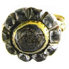 Antique Stuart Crystal Ring