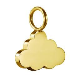 TPL Vermeil Cloud Charm