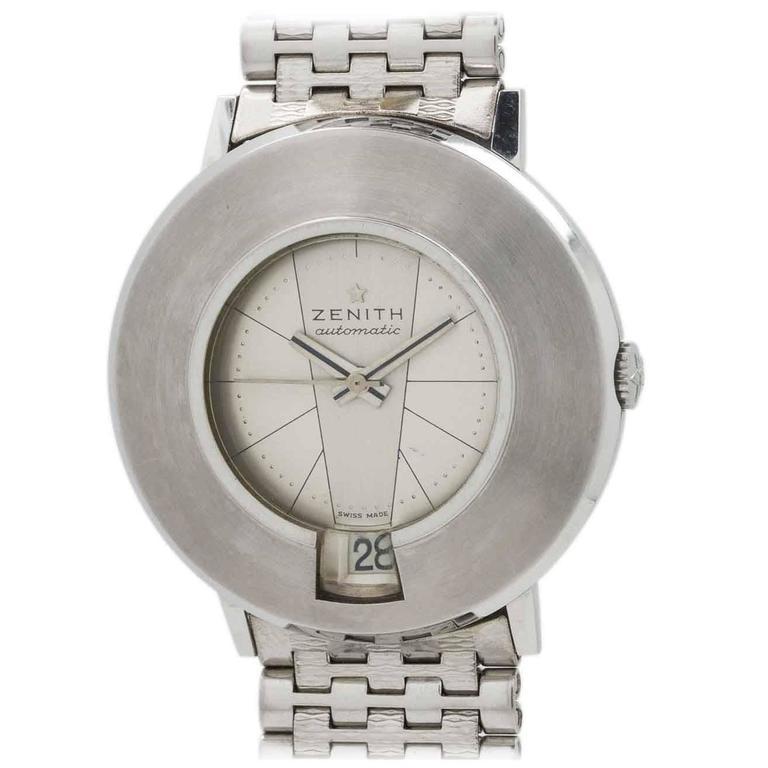 Zenith Stainless Steel Automatic Wristwatch