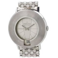 Zenith Stainless Steel Automatic Wristwatch