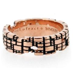 Torus Medium Rose Gold Ring