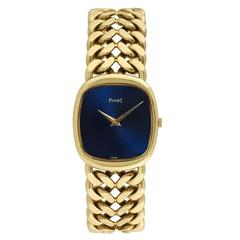 Piaget Yellow Gold Chain-Link Bracelet Wristwatch