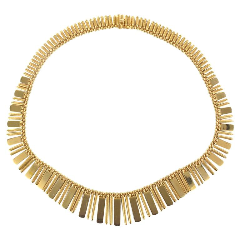 1970s Gold Necklace