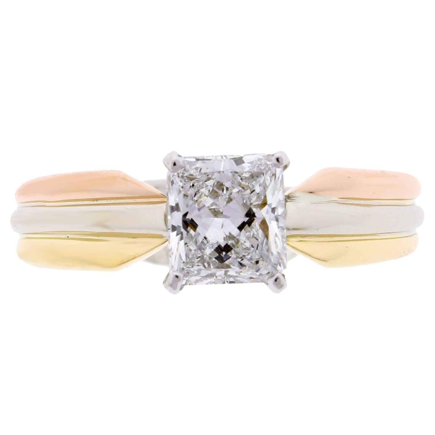 cartier engagement rings 58 for sale at 1stdibs