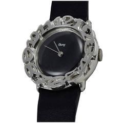 Obrey Lady's Sterling Silver Wristwatch
