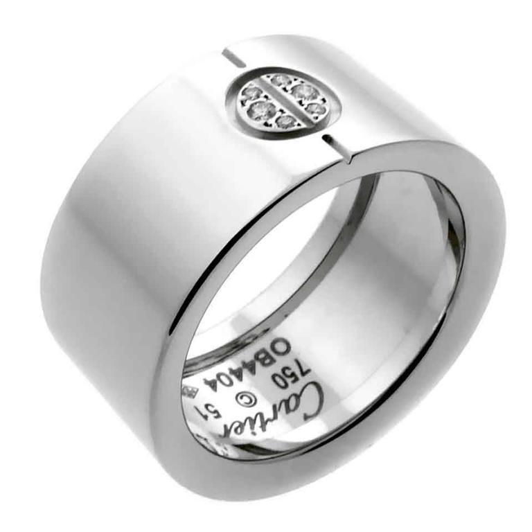 Cartier Love Diamond Gold Ring