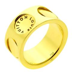 Louis Vuitton Empreinte Gold Ring