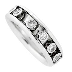 Dior Diamond Volage Diamond Gold Ring