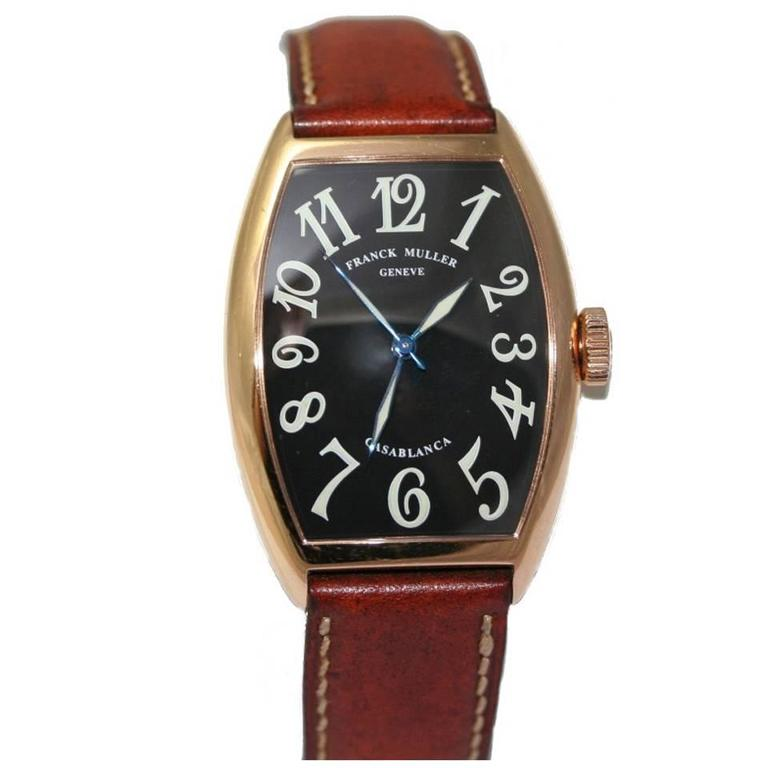 Franck Muller Rose Gold Casablanca Master of Complications Automatic Wristwatch