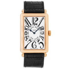Franck Muller Yellow Gold Long Island Master Complications Automatic Wristwatch