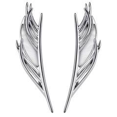 Shaun Leane Mother of Pearl Silver Drop Earrings