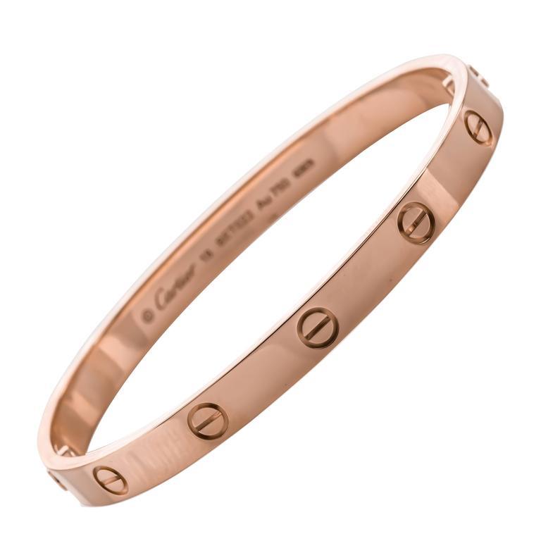 Cartier Gold LOVE Bracelet 1